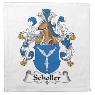 Scholler Family Crest Cloth Napkin