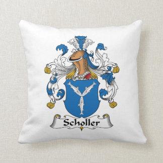 Scholler Family Crest Pillow