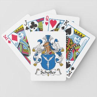 Scholler Family Crest Poker Cards