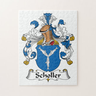 Scholler Family Crest Jigsaw Puzzles