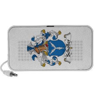 Scholler Family Crest Portable Speakers