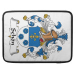 Schon Family Crest Sleeves For MacBook Pro