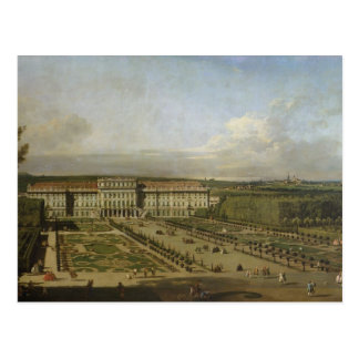 Schonbrunn Palace and gardens, 1759-61 Postcard