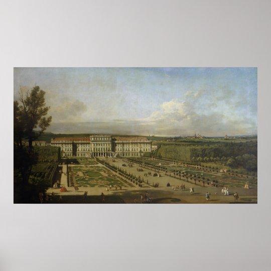 Schonbrunn Palace and gardens, 1759-61 Poster