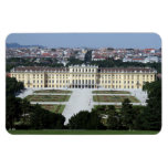 schönbrunn palace rectangular magnet