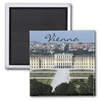 schönbrunn Viena Imán Cuadrado
