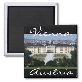 schönbrunn vienna austria 2 inch square magnet