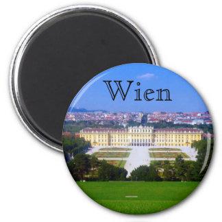 schonbrunn view 2 inch round magnet