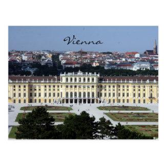 schönbrunn view postcard