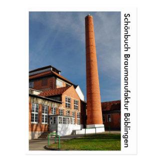 Schönbuch brewing factory postcard