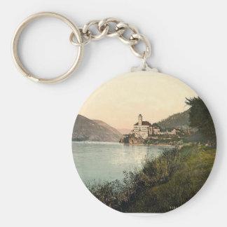Schonbuchel, Schneeberg, Lower Austria, Austro-Hun Basic Round Button Keychain
