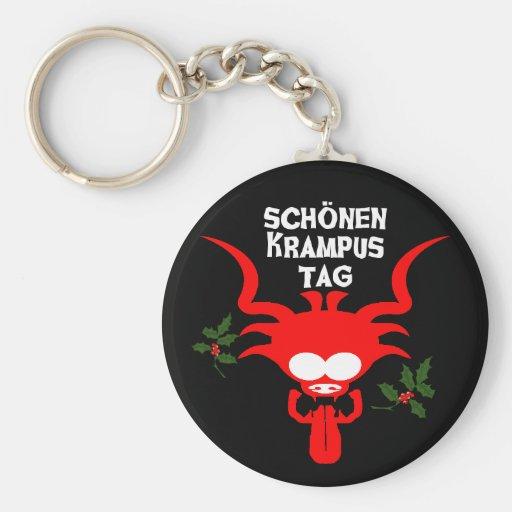 Schonen Krampustag Key Chain
