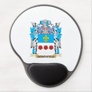 Schonfeld Coat of Arms - Family Crest Gel Mouse Pad