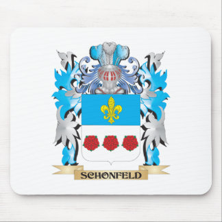Schonfeld Coat of Arms - Family Crest Mouse Pad