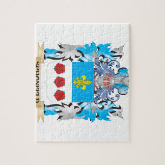 Schonfeld Coat of Arms - Family Crest Jigsaw Puzzles