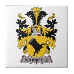 Schonfeld Family Crest Ceramic Tile
