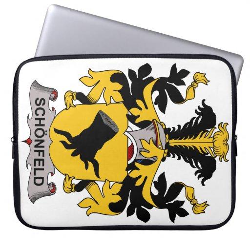 Schonfeld Family Crest Computer Sleeves