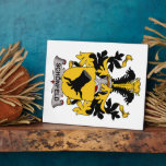 Schonfeld Family Crest Display Plaques