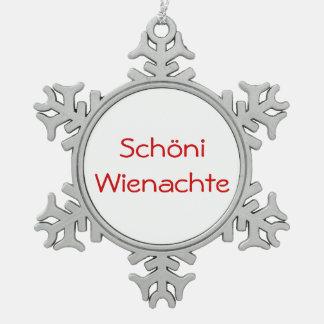 Schöni Wienachte - ornament