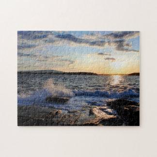 'Schoodic Sunset' Jigsaw Puzzle