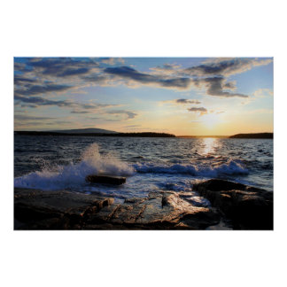 'Schoodic Sunset Impresiones