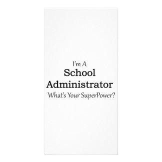 School Administrator Card