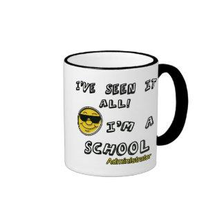 School Administrator Ringer Mug