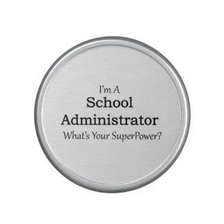 School Administrator Speaker