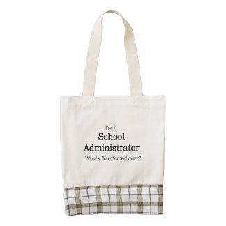 School Administrator Zazzle HEART Tote Bag