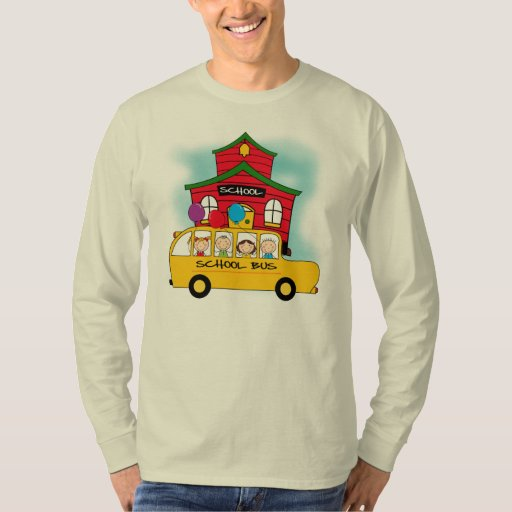 School and School Bus T-shirts and Gifts