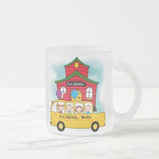 School and School Bus T-shirts and Gifts Mugs