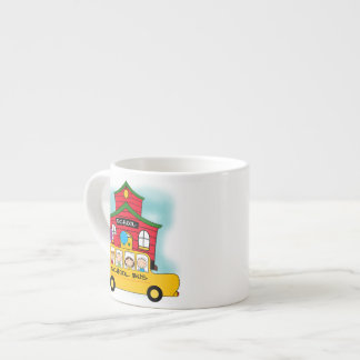 School and School Bus T-shirts and Gifts Espresso Mug