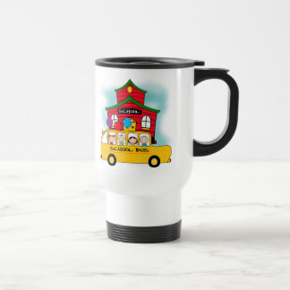 School and School Bus T-shirts and Gifts Travel Mug