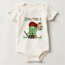 School Art Gift Baby Bodysuit
