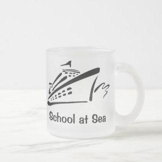 School at Sea - Frosted Mug