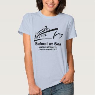 School at Sea - Ladies T-Shirt