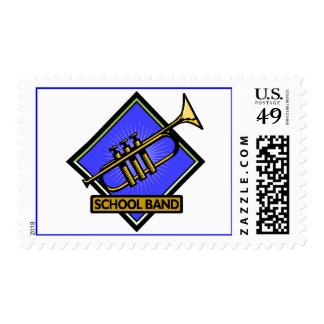 School Band Member Stamps