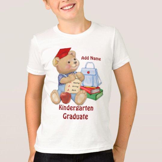 School Bear - Kindergarten Graduate T-Shirt