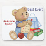 School Bear - Kindergarten Mouse Mats