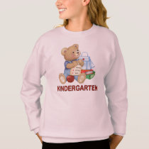 School Bear - Kindergarten Sweatshirt