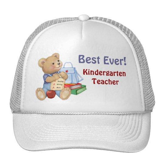 School Bear - Kindergarten Trucker Hat