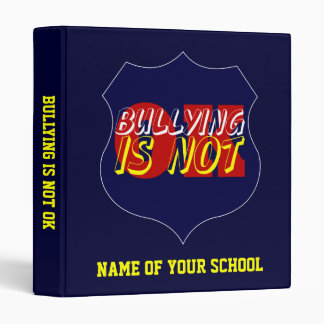 School Binder - Bullying Is Not OK