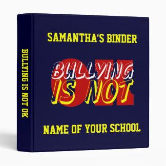 School Binder - Bullying Is Not OK 2