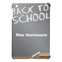 school blackboard customizable iPad mini case