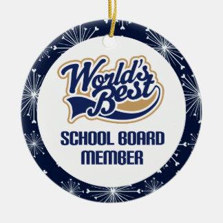 School Board Member Gift Ornament