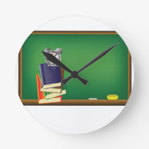 school board round clock