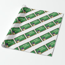 school board wrapping paper