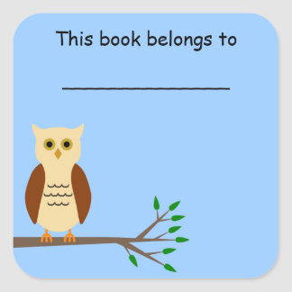 School Book Label