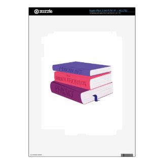 School Books Decals For iPad 3