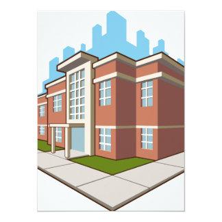 School Building Card
